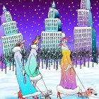 Зимняя прогулка, Богорад Виктор
