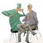 У невропатолога, Попов Андрей