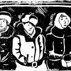 люди в ночном метро, Мельник Леонид