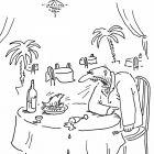 Спор с рыбой в ресторане, Богорад Виктор