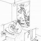 Жираф в окне, Шилов Вячеслав