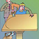 Подготовка к совещанию за круглым столом, Мельник Леонид
