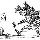 Заяц- пацифист, Мельник Леонид