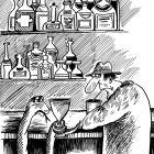 В кафе, Мельник Леонид