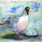 Удивительная чайка, Мельник Леонид