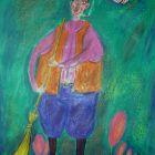 Дворник и его муза, Мельник Леонид