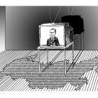 Телевизор на коврике, Богорад Виктор