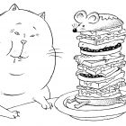 Обед кота, Смагин Максим