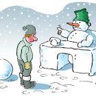 Снеговик - начальник, Александров Василий