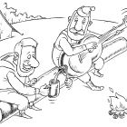 Барды с гитарой-бутылкой, Смагин Максим