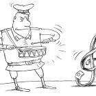 Военный скрипичный ключ, Смагин Максим