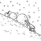 Сизиф и снежный ком, Александров Василий