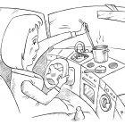 Женщина за рулем, Смагин Максим