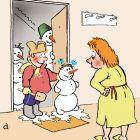 Мальчик со снеговиками, Александров Василий