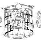Мексиканец в клетке, Смагин Максим