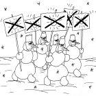 Демонстрация снеговиков, Шилов Вячеслав