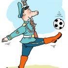Солдат и мяч , Александров Василий