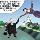 Поправка в закон притяжения, Тарасенко Валерий