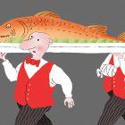 Рыба с рукой, Александров Василий