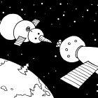 Снеговик на орбите, Александров Василий