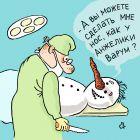 Снежная баба и пластика, Александров Василий
