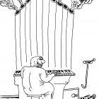 Игра на органе, Мельник Леонид