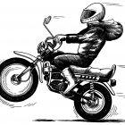 Мотоциклист, Майстренко Дмитрий
