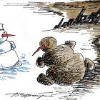 Городской снеговик, Эренбург Борис