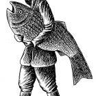 человек с рыбой, Гурский Аркадий