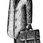 вешалка с пальто, Гурский Аркадий