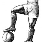 футбольный мяч , Гурский Аркадий