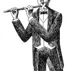 флейтист с пластырем, Гурский Аркадий