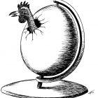 глобус-яйцо, Гурский Аркадий