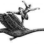 балерина в полёте, Гурский Аркадий