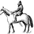 всадник на коне, Гурский Аркадий