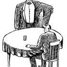 официант с водкой, Гурский Аркадий