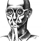 ножницы на лице, Гурский Аркадий