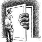 дверь и пальцы, Гурский Аркадий