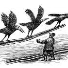 птицы с рельсой, Гурский Аркадий