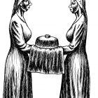 девушки с хлебом-солью, Гурский Аркадий