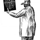 Врач с рентгеновским снимком, Гурский Аркадий
