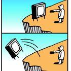 телевизор падает, Копельницкий Игорь