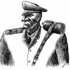 Военный с колбасой, Гурский Аркадий