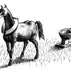 конь с хомутом, Гурский Аркадий