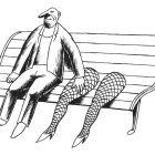 скамья с ногами, Гурский Аркадий