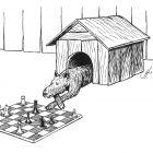 собака в будке, Гурский Аркадий
