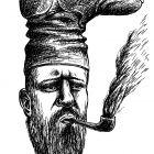 курящий с сапогом, Гурский Аркадий