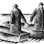 шпионы в лодках, Гурский Аркадий