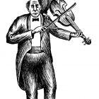 скрипач и попугай, Гурский Аркадий