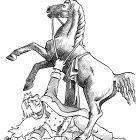 Покорение коня Дедом Морозом, Смагин Максим